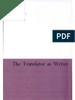 93362763 Bassnett Susan the Translator as Writer