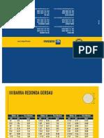 Catalogo Barras e Perfis-tabela de Bolso