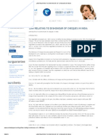 LAW RELATING TO DISHONOUR OF CHEQUES IN INDIA.pdf