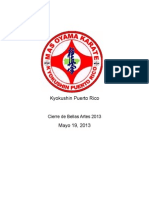 Kyokushin Puerto Rico, Cierre de Bellas Artes