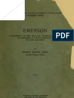 Henry David Gray - Emerson