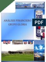 ANÁLISIS FINANCIERO GLORIA S.A.