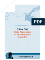 Antonio Abati - Delle Frascherie