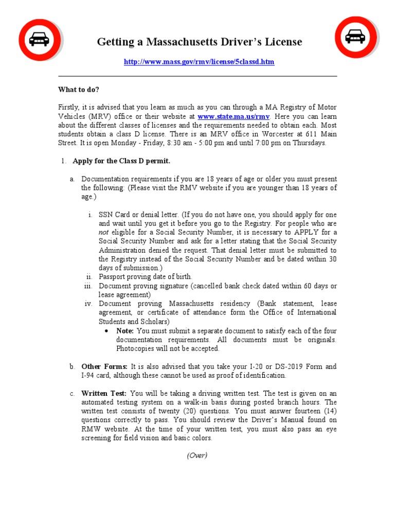DriversLicense | Driver's License | Social Security Number