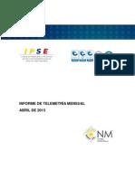 04. Informe Telemetria Abril