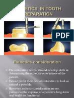 Esthetics in Tooth Preparation