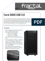Core3000USB3 Product Sheet
