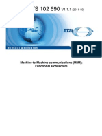 M2M Functional architecture