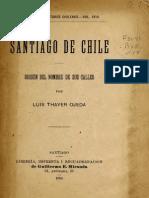 Santiago de Chile o 18 Thay