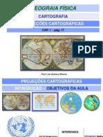 PROJEÇÕES CARTOGRÁFICAS 1ºEM