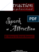 81 Ways to Break Rapport