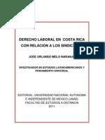 DERECHO LABORAL EN COSTA RICA CON RELACIÓN A LOS SINDICATOS