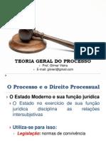 3 - O Processo e o Direito Processual