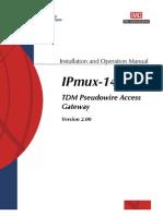 Rad Ipmux-14 User Guide