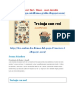 Trabaja Con Red eBook Autor Juan Merodio
