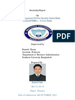 Internship Report on Credit Management Published by Rahul