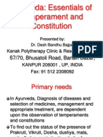 Ayurveda Essentials of Temperaments and Constitutions 1196851087410663 5