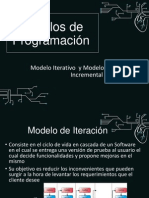 Modelo Iterativo y Modelo Del Desarrollo Incremental