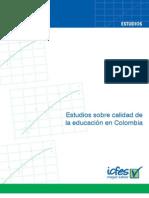 Estudio sobre la preparación de pruebas censales (ICFES)