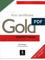 First Certificate Gold Teacher s Book