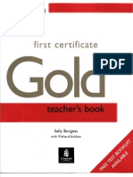 First Certificate Gold Teacher s Book