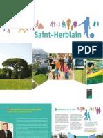 Plaquette Saint Herblain