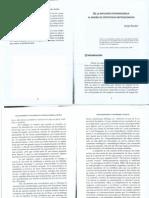 De la epistemología a la metodología y viceversa