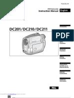 instruction camera dc201