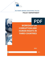 Corruption and Human Rights in Third Countries