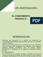 Metodo de Investigacion i