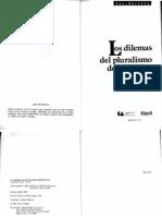 Dahl, Robert_Los dilemas del pluralismo democrático (caps. 1