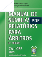 manual de súmulas (CBF)