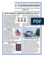 Communicator Senior Newsletter - June 2013