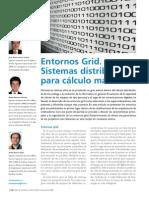 Entornos Grid - Sistemas Distribuidos Para Calculo Masivo