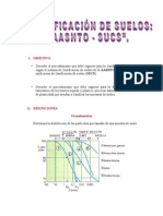Clasificacion de Suelos AASHTO-SUCS