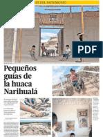 Narihuala y Ninos Guardianes Del Patrimonio
