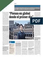 Pensar en Global Garantiza El Exito Emprendedor