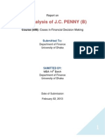 Solution of JC Penny Case(B)
