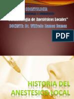 -Farmacologia de Anestesicos Locales