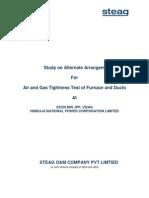 Air Tightness Test of Furnace