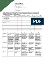 Peer Assesment Form