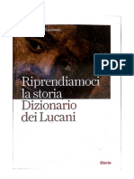 Dizionario dei lucani. Riprendiamoci la storia