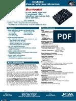 ICM 400 Sell Sheet
