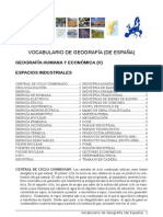 Vocabulario Geografia 5 INDUSTRIA