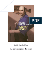 Davide Van de Sfroos - Le Parole Sognate Dai Pesci