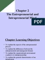 Entrepreneurship Chap 2