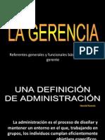 Administración y Gerencia