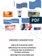 ERRORES SEMANTICOS