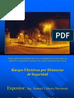 8. Riesgos Eléctricos por distancias de Seguridad