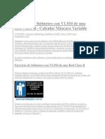 Ejercicio de Subneteo Con VLSM de Una Red Clase B